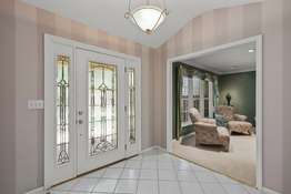 Inviting Entry with Marble Tiled Flooring