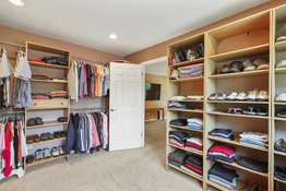 Previously the 4th Bedroom is Now the Spacious Master Walk-In Closet