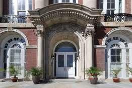 Elegant Entrance to Building