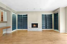 Fireplace and Custom Built-Ins