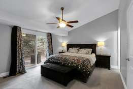 Spacious Master Suite with Vaulted Ceiling, and Walk-In Closet