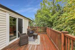 Master Suite Offers Additional Access to the Spacious Deck