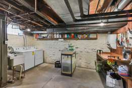 Lower Level Offers Plenty of Unfinished Space