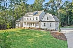 Beautiful Modern Farmhouse Architecture with Award Winning Plan