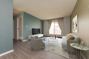 Updated 2 bed, 2 bath condo in Queen Mary Park