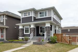 Gorgeous 2 storey home with LEGAL BSMT SUITE in Rosenthal
