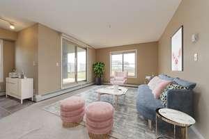 Private corner unit, 2 bedroom + DEN condo in Walker