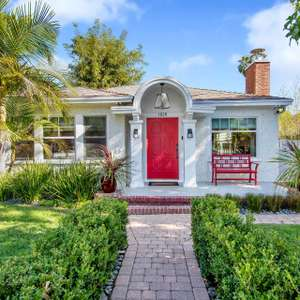 Classic California bungalow renovated with exceptional style, an open layout, and timeless charm!