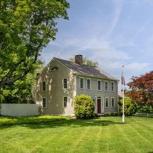 Circa 1790 on 10+ Acres | Pool | Caretaker's Cottage | Separate Studio | Horse Barn