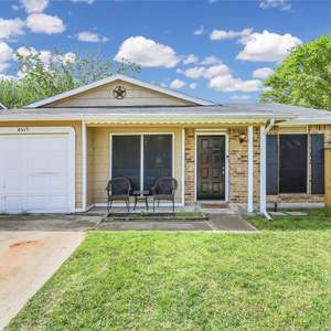 HARD TO FIND 2 BEDROOM 1 BATH HOME + A LARGE WRAPAROUND FENCED BACKYARD WITH MATURE TREES