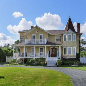 Queen Anne Victorian with Unique Architectural Details in Monmouth Beach