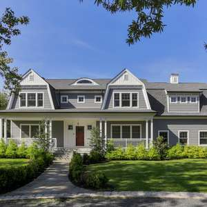 Stunning Custom Home in Rumson Just A Short Walk to Beaches