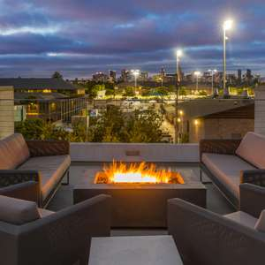 Huge Rooftop Deck with Skyline Views