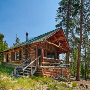 Rustic Log Cabin in Indian Peaks Wilderness