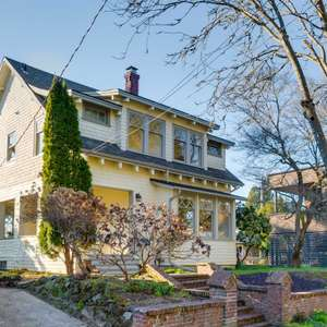 Exceptional Light-Filled Craftsman With Vintage Character & Art Studio!