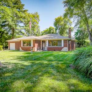 Classic Brick Ranch on a Large Lot with Mature Trees
