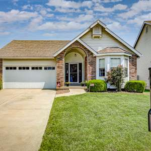 Charming Ranch in Brookhill Estates Backs to Open Area