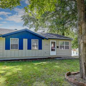 Charming Ranch in Belleville with a Fenced Yard