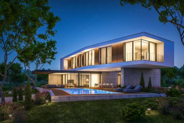 Modern Architectural Home with Innovative use of Glass and Steel