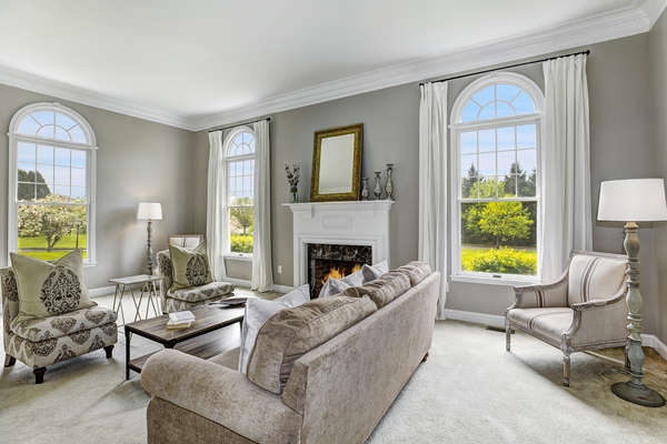 SERENE AND PEACEFUL LIVING ROOM