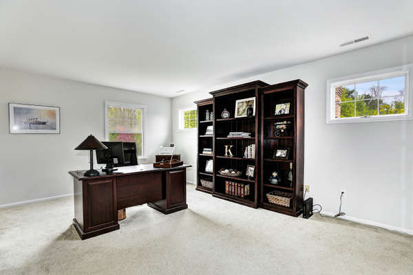 LEISURE ROOM/OFFICE WITH FRENCH SLIDER TO BEDROOM #3