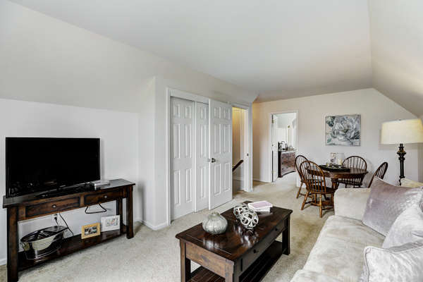 IN-LAW/GUEST SUITE IS EXTREMELY SPACIOUS WITH PRIVATE BACK STAIRCASE