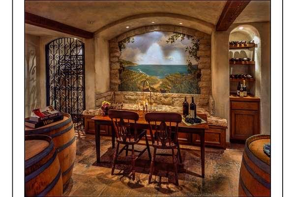 Wine Cellar and Tasting Room!