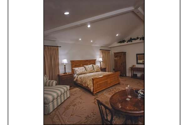 Master Bedroom Suite that takes up Entire 2nd Level Wing of Home.