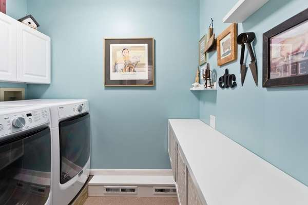 Main Floor Laundry Room