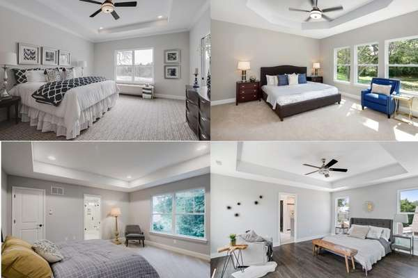 Master Bed Collage