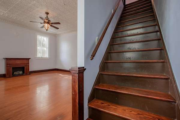 Restored and Refinished Staircase