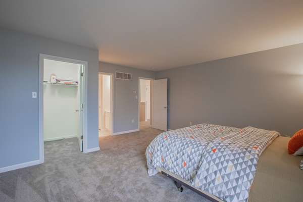 All Bedrooms offer a Walk-In Closet