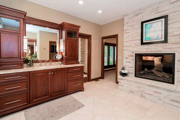 Vanities with Top-Tier Granite Counters
