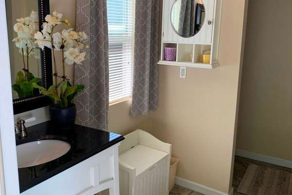 Powder Room/Changing Room