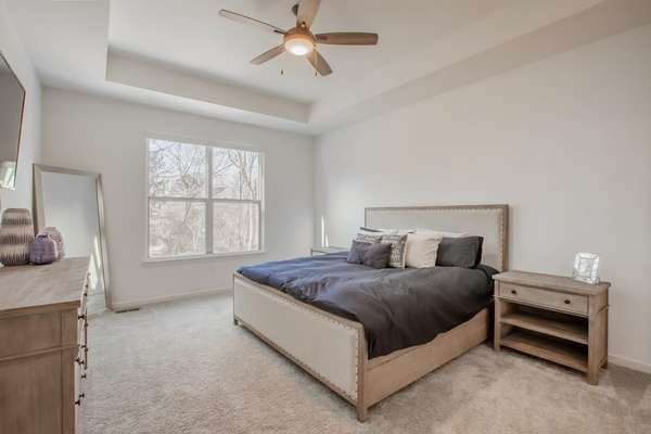 Master Retreat with Tray Ceiling