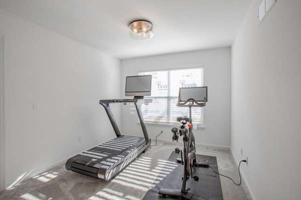 Loft - Currently Used as Fitness Area