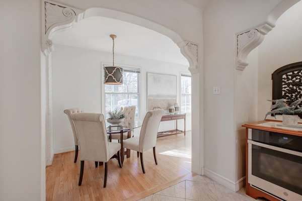 Arched Opening with Corbels