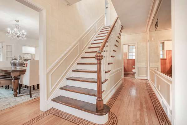 Beautiful Spindled Staircase