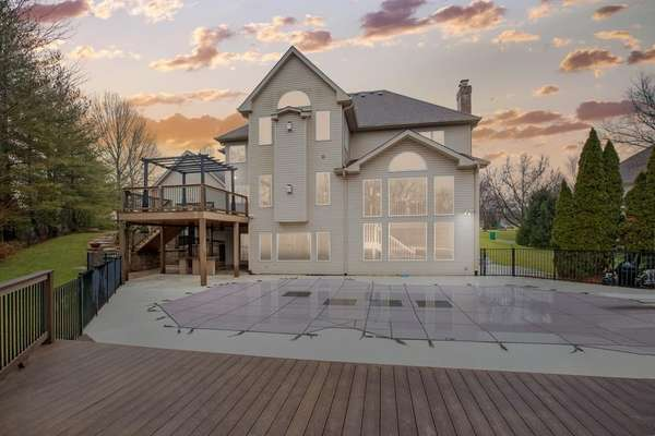 Multiple Levels of Outdoor Living
