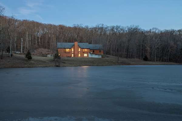 Enjoy the Peaceful Views of the Private 2+ Acre Lake!