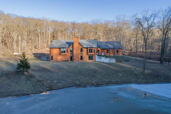 This Property is Very Private as it's Almost Completely Surrounded by Woods!
