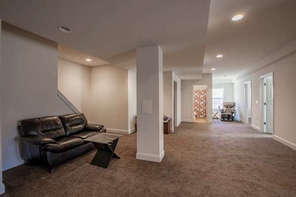 Over 1,500 SqFt in Lower Level!