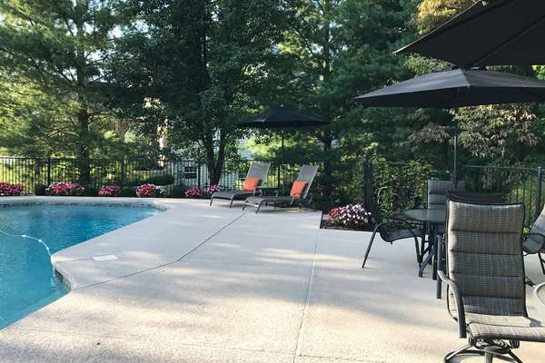 Updated Pool Deck