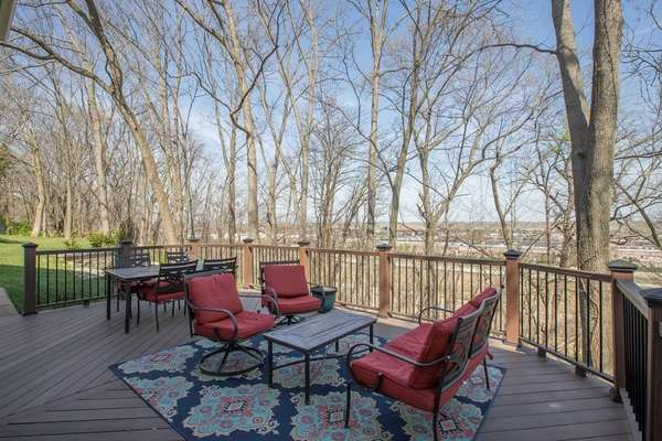 Expansive Deck with Low-Maintenance Deck Boards