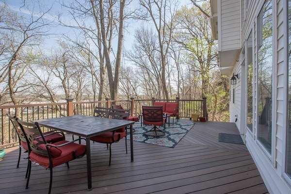 Sweeping Views of the Wooded Backyard