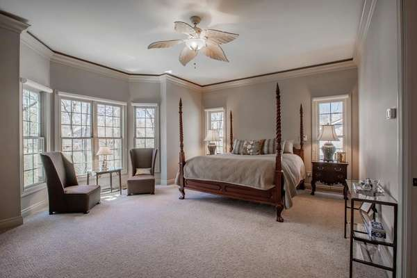 Master Retreat with Large Bay Window