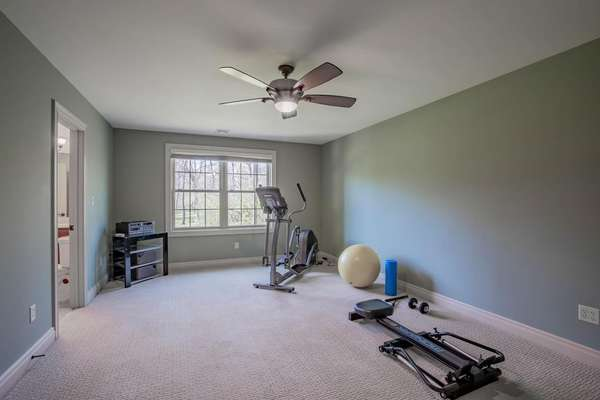6th Legal Bedroom (Currently Used as a Fitness Room)