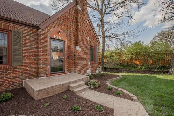 Charming Brick and Stone Exterior