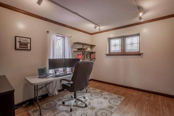 Main Floor Bedroom has been utilized as an Office and Media/Family Room!