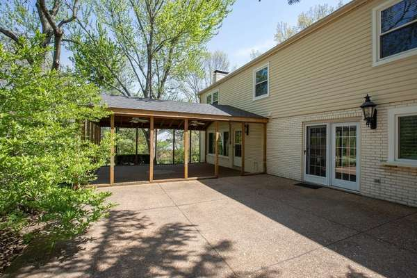 Expansive Uncovered Patio